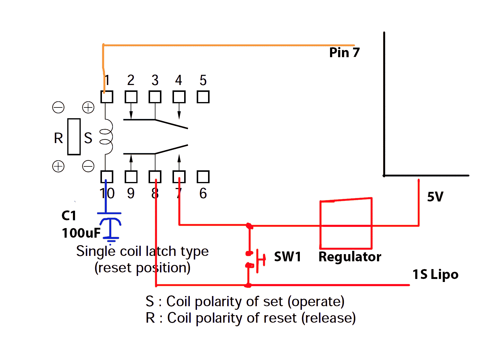 Reset A Single Coil Latching Relay On Power Up How Under Current Pdf Im Using These Relays Http Datasheetcatalogcom Datasheet Nec Eb2 3snuepdf In Order To Down My Project When Voltage